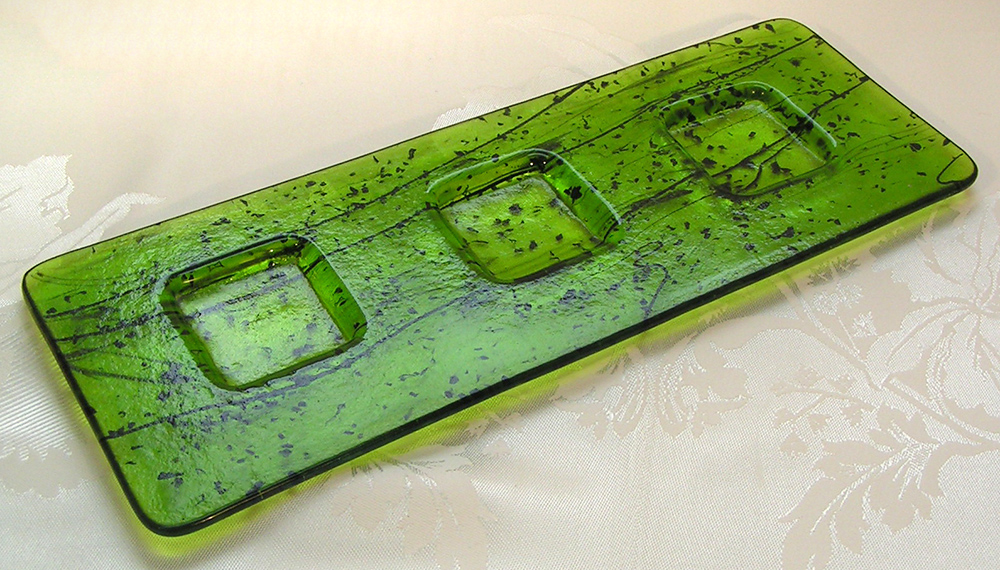 salt tray green