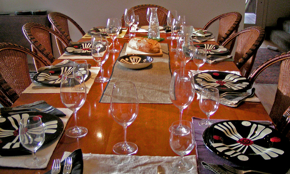 Tres Sabor tablesettings